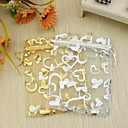 srce dizajn favoriziraju vrećice s vrpcom - skup od 12 (više boja)