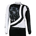 Kooplus Quick Dry Men's Long Sleeve Cycling Jersey (Tiger)