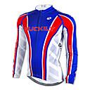 NUCKILY® Biciklistička majica Muškarci Dugi rukav Bicikl Prozračnost / Ugrijati / Quick dry / Ultraviolet Resistant Majice100% poliester