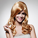 Capless Long High Quality Synthetic Light Blonde Curly Hair Wig