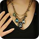 ženske vintage dragulj ogrlicu