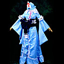 Inspirirana Touhou projekt Yuyuko Saigyouji Video igra Cosplay nošnje Cosplay Suits Kolaž Plava Top