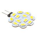 3W G4 LED svjetla s dvije iglice 12 SMD 5630 270 lm Toplo bijelo DC 12 V