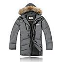 Oblečení na lyže Péřové bundy / Zimní bunda Pánské Zimní oblečení 100% polyester / Fleece Oblečení na zimyVoděodolný / Prodyšné /
