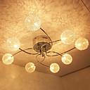 20w g4 8-light železo flush mount světlo