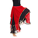 dancewear chiffon con pantaloni di prestazione ventre livelli da utilizzare per le signore colori più