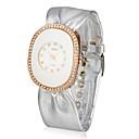 Ženska kožna kvarcnog stakla pokret okrugli oblik haljina sat