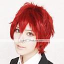 Cosplay Wigs Naruto Sasori Crvena Short Anime Cosplay Wigs 30 CM Otporna na toplinu vlakna Male