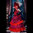 Inspirirana Crna Butler Angelina Dulles Anime Cosplay nošnje Cosplay Suits / Dresses Kolaž Crvena Bez rukavaHaljina / Šešir / Ogrlice /