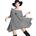 KISS Stripes Loose Swing Dress (incl. Belt)