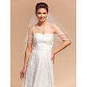Vjenčani velovi One-tier Elbow Burke Pencil Edge 59.06 u (150cm) Til SlonovačaRetka, Ball haljina, princeza, Plašt / stupac, Truba /