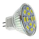 6W GU4(MR11) LED reflektori MR11 12 SMD 5730 570 lm Prirodno bijelo DC 12 V