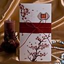 列弓のあるエレガントな桜の結婚式の招待状(50個セット)