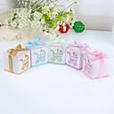 Dárky pro novorozeně Party laskavosti a dárky-12Kusů v sadě Krabice na výslužky Stuhy Lepenkový papír Zahradní motiv / Klasický motiv