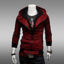 Muška jakna s kapuljačom, kontrastnih boja, tanka