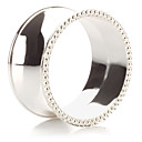 Sada 4 Modern slitiny zinku Luxusní prsten ubrousku