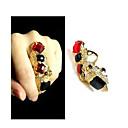 Prstenje Moda Kauzalni Jewelry Zircon Žene Prstenje sa stavom / Midi prstenje 1pc,Univerzalna veličina Zlatna