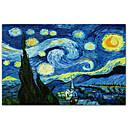 Starry Night c1889 Vincenta Van Gogha Poznati Art Print