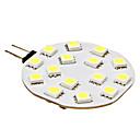 3W G4 LED Bi-pin světla 15 SMD 5050 210 lm Přirozená bílá DC 12 V