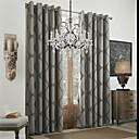 Dva panely Window Léčba Rococo Jídelna Polyester Materiál záclony závěsy Home dekorace For Okno