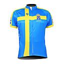 KOOPLUS® Biciklistička majica Muškarci Kratki rukav Bicikl Prozračnost / Vodootporni patent / Prednji Zipper / Podesan za nošenje