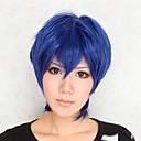 Cosplay Wigs Cosplay Aomine Daiki Ink Blue Short Anime Cosplay Wigs 30 CM Otporna na toplinu vlakna Male