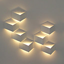 1W Modern LED Wall Light Artistic Cubic Metal Shade 1 PCS Included