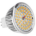 MR16(GU5.3) 6.5W 48x2835SMD 520LM teplá bílá LED bodovka (12V)