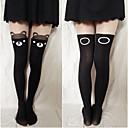 Lijep crni medvjed Sweet Lolita čarape