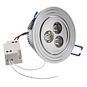 3W 240-270LM 6000-6500K Přirozené bílé světlo LED Stropní Žárovka (85-265V)