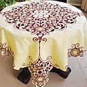 モダンなスタイルの花中空テーブルクロス