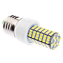 DAIWL Dimmable E27 6W 120xSMD3528 400-500LM 5500-6500K Natural White Light LED Corn Bulb (85-265V)