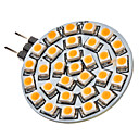 G4 2W 30x3528SMD 120-150LM 3000-3500K Warm White Light LED Spot žarulja (12V)