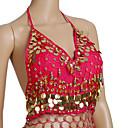 Dancewear šifon s kovanicama i rubnih Trbušni ples Top za dame