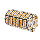 G4 6W 102x3528SMD 420-450LM 3000-3500K Warm White Light LED žarulja Corn (12V)