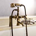 浴槽水栓 ツーハンドル 台付 シャワーヘッド付