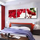 Protezala Canvas Art Cvjetni Rose Petal skup od 3