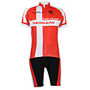KOOPLUS® Biciklistička majica s kratkim hlačama Uniseks Kratki rukav BiciklQuick dry / Vjetronepropusnost / Vodootporni patent / Prednji