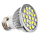 E26/E27 LED bodovky PAR38 21 SMD 5050 240 lm Přirozená bílá AC 110-130 / AC 220-240 V