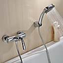 Sprinkle®シャワー水栓  ,  コンテンポラリー  with  クロム シングルレバー 二つ  ,  特徴  for 壁式