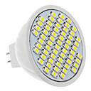 MR16 4W 60x3528SMD 330-360LM 5500-6500K Hladno bijelo svjetlo LED Spot žarulja (12V)