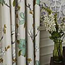 Dvije ploče Michelle luxury® zemlja velike latice ispis eko friendly zavjese zavjese