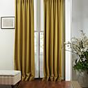 二つのパネル現代の固体環境に優しいカーテン