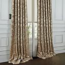 Dva panely Window Léčba Rococo Ložnice Polyester Materiál záclony závěsy Home dekorace For Okno