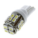 20 1206 SMD LED Auto T10 168 194 žárovky W5W Side Wedge Light Lamp White