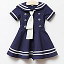 女の子のスクールスタイルドレス