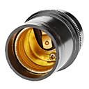 E27 Droplight Svjetiljka Holder (crna)