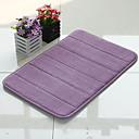 "Bath Mat Memory Foam Stripe vzor 16x24 ""Purple"