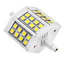 5W R7S LEDスポットライト 24 SMD 5050 440 lm クールホワイト AC 85-265 V