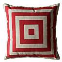 Crveni trg Box Dekorativni jastuk Cover